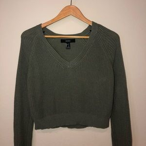 Long sleve, knitted dressy top